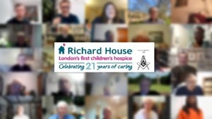 Freemasons from across London and Essex joined Richard House for a virtual update!